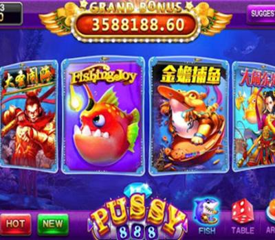 รวบรวมเกม ที่มาในธีมสัตว์น้ำแห่งท้องทะเล Pussy888
